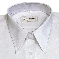 Spear point collar shirts page 15 for Tony collar dress shirt