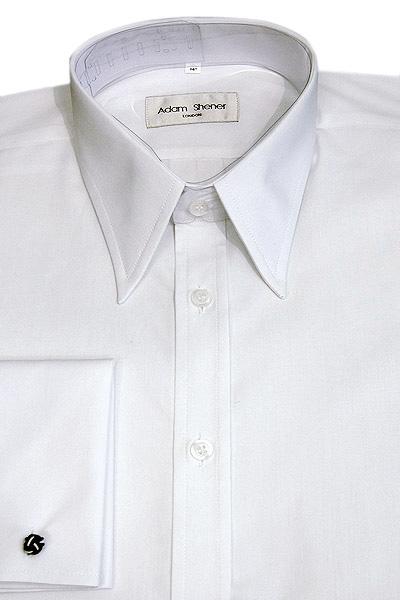 White Shirt Large Collar | Is Shirt